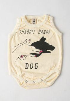 Shadow Hands Dog Onesie