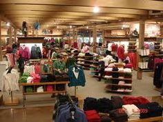 The LL Bean store in Maine.