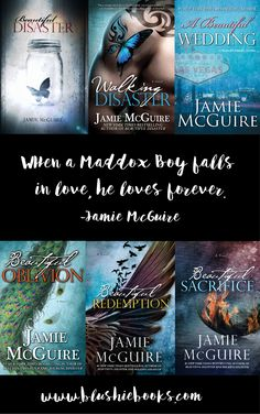 MADDOX ALERT!! @blushiebooks When a Maddox boy falls in love, he loves forever. I love this series by Jamie McGuire's  One of my top ten romance / new adult authors!
