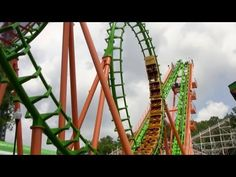 Boomerang Roller Coaster Front Seat POV Six Flags St. Louis 2013 - loads of fun; reminded me of one in Kansas City