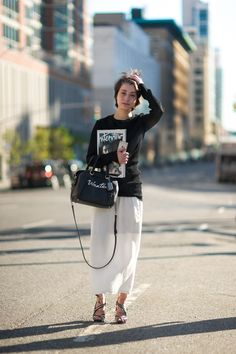 Marie Pascal COAHC New York Fashion Week NYFW An Unknown Quantity Street Style…