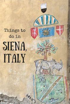Josie Wanders | Things to do in Siena, Italy | http://josiewanders.com