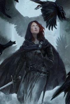 Nightingale, Thea Turner on ArtStation at https://www.artstation.com/artwork/a1w60