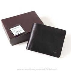 3cb0bfecb8 Mulberry Mens Wallet Black Outlet USA
