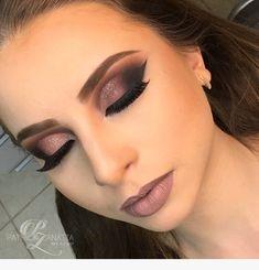 Eye Makeup Tips – How To Apply Eyeliner – Makeup Design Ideas Gorgeous Makeup, Love Makeup, Makeup Inspo, Makeup Inspiration, Beauty Makeup, Makeup Ideas, Makeup Lips, Drugstore Beauty, Fall Makeup