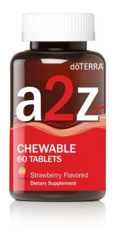 doTERRA A2Z Chewables 60 ct *** Details can be found by clicking on the image.  This link participates in Amazon Service LLC Associates Program, a program designed to let participant earn advertising fees by advertising and linking to Amazon.com.