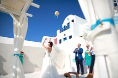 Who will be the next bride? Wedding Planning by Marvellous Wedding in Santorini! Photo by Marina Gruzdyeva.