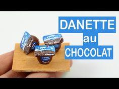 DANETTE AU CHOCOLAT MINIATURE⎪Fimo et papier - YouTube