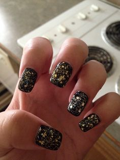 Slimming black #black #gold # silver #loveit