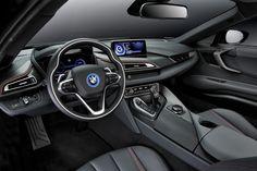 Cockpit des neuen BMW i8