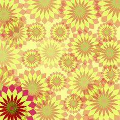 Flowery Hintergrund,  public domain
