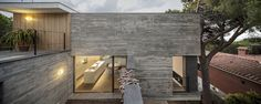 Barcelona-based architect Daniel Isern has designed Meriterrani 32, a house located in Sant Pol de Mar, Spain.