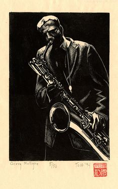 Gerry Mulligan by James Todd