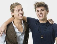 Dylan & Cole Sprouse NOW! I am diggin Dylans hair:)