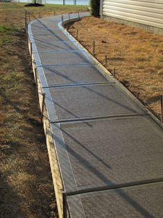 Driveways and drains patio designs cement Sidewalks — Mattingly Concrete Inc. Cement Driveway, Concrete Patio Designs, Concrete Driveways, Concrete Projects, Backyard Patio Designs, Backyard Landscaping, Patio Ideas, Concrete Slab Patio, Cement Design