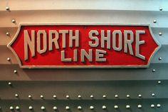 Vintage Train Logo: North Shore Line