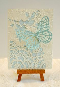 Butterfly for Carolyn by sleepyinseattle - Cards and Paper Crafts at Splitcoaststampers