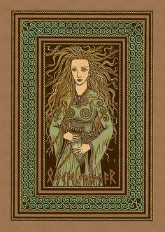 OSKMEYAR... A Valkyrie in norse mythology.
