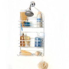 Spa Creationsâu201e¢ Rustproof Shower Caddy   BedBathandBeyond.com