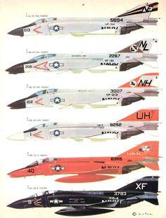 30 McDonnell F-4 Phantom II