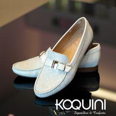 Imagine quanto conforto e charme nos seus pés Compre Online: http://koqu.in/1U2nHGp #koquini #sapatilhas #euquero #mocassim by #wirth
