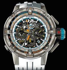 Richard Mille flyback chronograph
