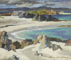Iona, The South End by John Maclauchlan Milne (Scottish