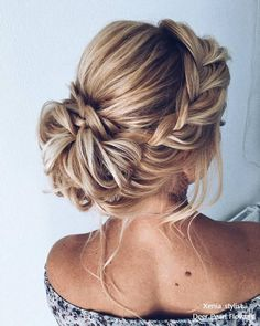 nice 54 Gorgeous Wedding Hairstyles Ideas For You www.lovellyweddin nice 54 Gorgeous Wedding Hairstyles Ideas For You www.lovellyweddin nice 54 Gorgeous Wedding Hairstyles Ideas For You www. Bridal Hair Updo, Wedding Hair And Makeup, Hair Makeup, Bridesmaid Hair Updo Braid, Hairstyle Wedding, Wedding Updo With Braid, Braided Wedding Hairstyles, Boho Hair Updo, Hair For Bridesmaids