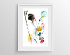 Abstract Painting Giclée Print nº 3 Fine Art by VictoriAtelier
