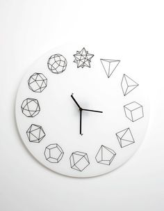 Solid_ho is a minimal wall clock by Paula collective.