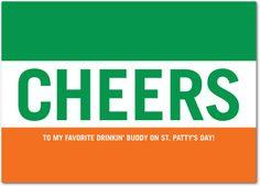 Irish Pride - St Patricks Day Cards in Spearmint | Jill Smith