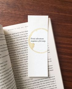 Every adventure quote bookmark, Wisdom gift, Christmas gift for reader, Adventure gift, Birthday gif Adventure Gifts, Adventure Quotes, Graduation Gifts For Sister, Sister Gifts, Motivational Gifts, Gifts For Readers, Presents For Men, Experience Gifts, Mom Day
