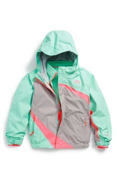 The North Face 'Oso' Hooded Fleece Jacket (Baby Girls) available ...