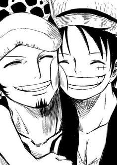 Law, Luffy; One Piece