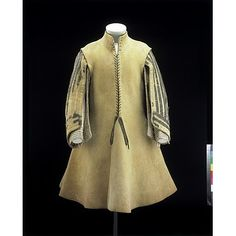 English 1640 Leather Buff Coat