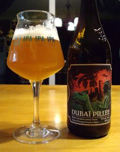 Dubaï Pillée – Le Trou Du Diable Style: Double IPA Apv: 9% Love this beer such a great imperial IPA up there with Morality from DDC