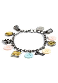 Sew Be It Bracelet.This retro bracelet reminds you of when you mom used to craft, but has a great twist that you will love. Talk about a great stocking stuffer!