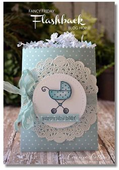 Ideas for baby shower card box ideas gift bags Baby Shower Gift Bags, Baby Shower Cards, Baby Cards, Stampin Up, Paper Bag Crafts, Diy Crafts, Decorated Gift Bags, Shower Bebe, Baby Scrapbook