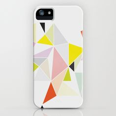 Multicolor Geometric iPhone Case designed by me!