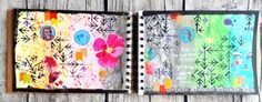 Today I have a journal with me video for you! I am working in my Marabu Mixed Media journal. Mixed Media Journal, Art, Art Background, Kunst, Performing Arts, Art Education Resources, Artworks