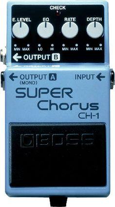Boss CH-1 Super Chorus Guitar Effect Pedal