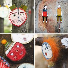 For #TheCreativeDay Maraconde: Wooden puppets and woodland creatures- Altri contatti: FB: www.facebook.com/maraconde.handmade TUMBLR: http://maraconde.tumblr.com/