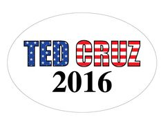 Ted Cruz Bumper Sticker