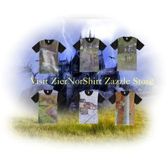 Take a look at ZierNorShirt Zazzle Store. Types Of T Shirts, Funny Tshirts, Bird, Nature, Polyvore, Painting, Collection, Design, Inspiration