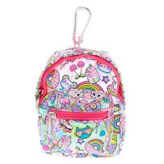 s mini sac à Claire's Accessories, Baby Doll Accessories, Backpack Keychains, American Girl, Barbie Doll Set, Unicorn Fashion, Little Girl Toys, Christmas Unicorn, Cute Wallets