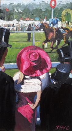 Whitewall Galleries offers beautiful and innovative original paintings, collectable editions and sculptures from internationally acclaimed artists. Impressionist Paintings, Oil Paintings, Architecture Art Design, Derby Hats, Horse Art, Artist Painting, Lady In Red, Original Paintings, Sculptures