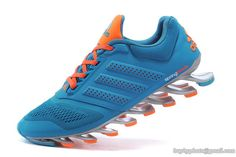 timeless design d9448 0c4de Men s Adidas Springblade Drive 2.0 Running Shoes Peacock blue 40-45