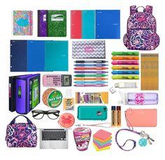 52 Ideas For Diy School Supplies Backpacks Lilly Pulitzer Middle School Supplies, Middle School Hacks, Life Hacks For School, Diy School, School Bags, School Backpack Essentials, School Locker Organization, Backpack Organization, Stationary For School