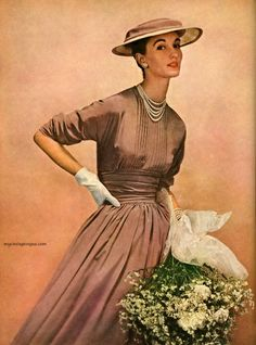 Simplicity Spring Pattern Book 1953 - Evelyn Tripp