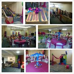 Make your next event different! What about a Carnival decoration? pinned for the color combination LL